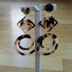 Sashi Resin Drop Earrings
